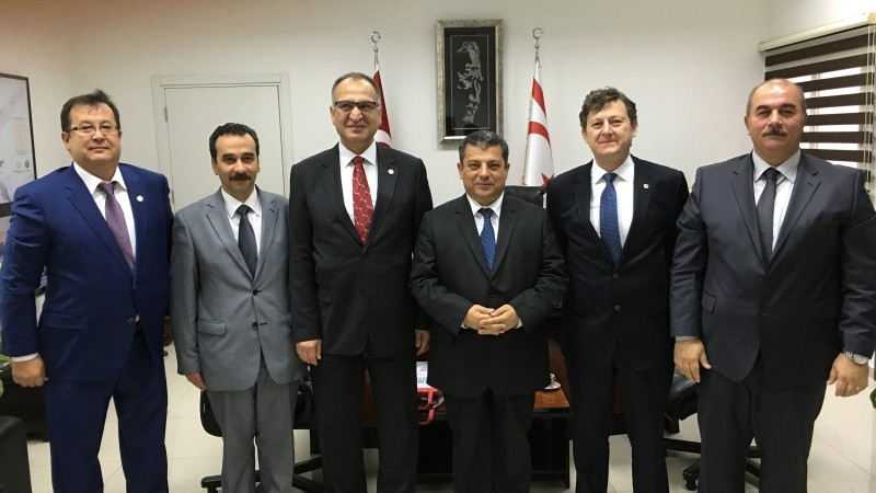 Türkiye Okul Sporları Federasyonu Kuzey Kıbrıs Türk Cumhuriyeti Milli Eğitim Bakanlığı Ziyareti